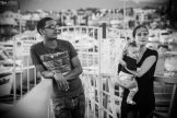 photo famille décor urbain