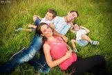 photo de famille naturelle