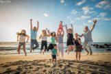 photo famille fun plage