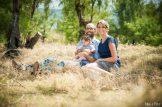 photo famille savane à la Réunion