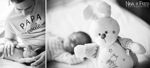 séance photo de naissance de Hugo à la Réunion