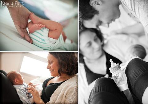 photos de naissance et de famille des Bénard