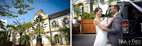 photos de mariage devant la mairie laura et Rahma