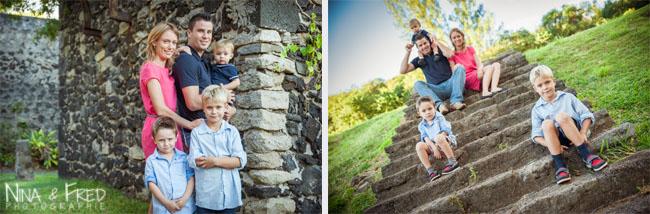 séance photo de famille à la Réunion Nicolas