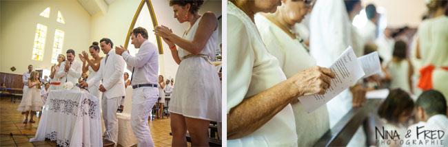photos de cérémonie église 974 Aurélie et Maxime