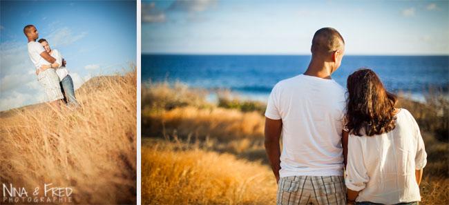 seance photo dans la savane Isabelle et Eric