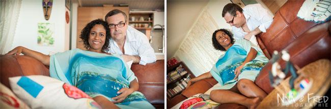 photos de grossesse en couple Marcia