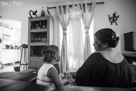 photo noir et blanc Mickaëlle