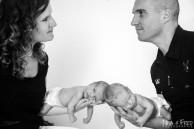 sénace photo naissance jumeaux 974 EV