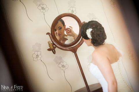 préparation de la mariée Linda