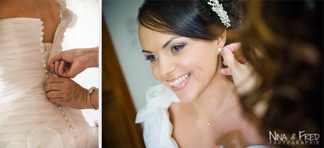 préparation de linda mariage
