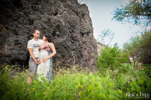 photographie de femme enceinte à la Réunion Farah