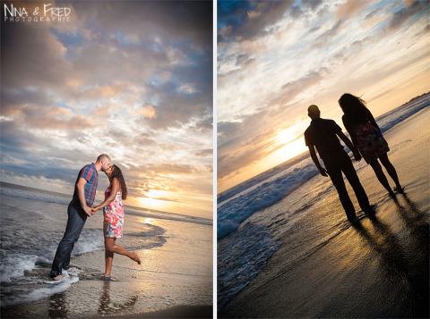 photos sur la plage F&D