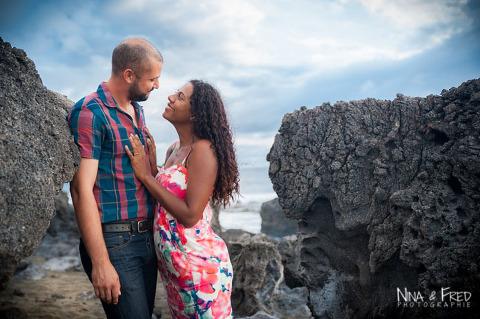 couple F&D dans les rochers