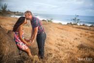 photo d'engagement mariage de F&D