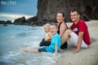 photographie lifestyle famille C&R plage