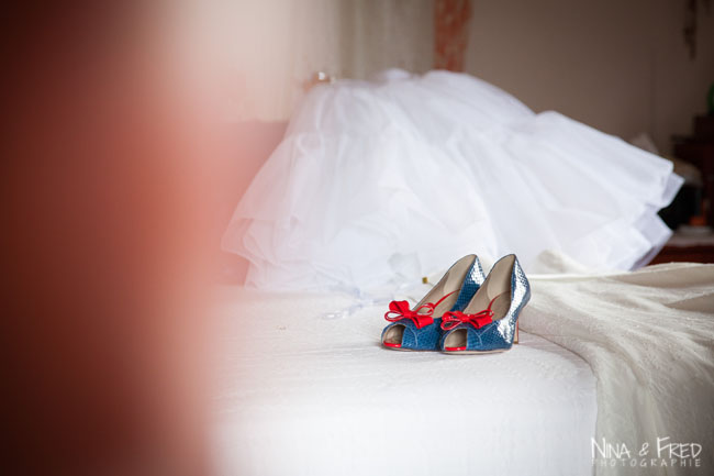 chaussures de la mariée Fawziyah