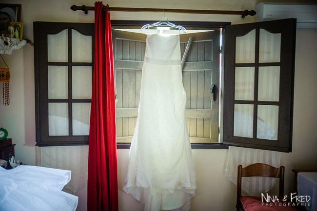 robe de mariée de Fawziyah