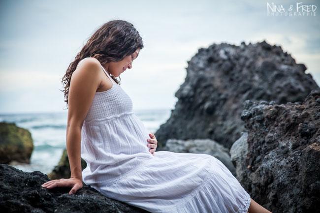 Gina enceinte