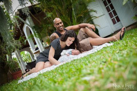 photo de famille Gina et Lionel