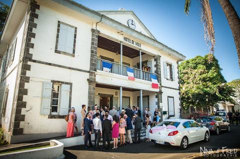 mariage mairie de Sainte Marie Réunion