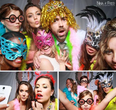 photobooth soirée mariage J&L