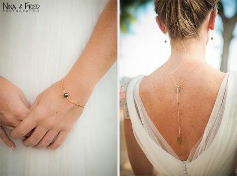 bijoux créés par La Petite Plagiste