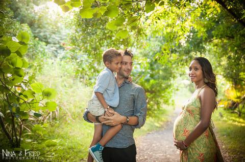 grossesse et famille Marcelo et Julia