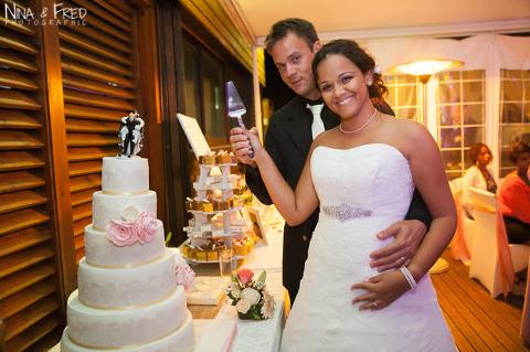 gâteau mariage de Delphine et Yann