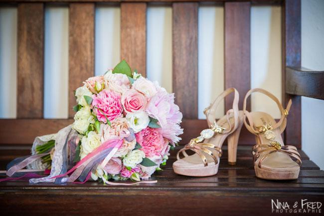 bouquet de la mariée Aurélie