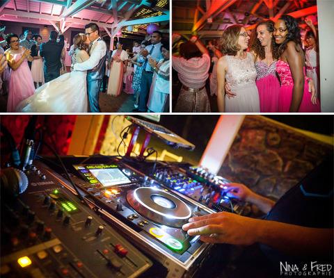 fête mariage A&L au Lux