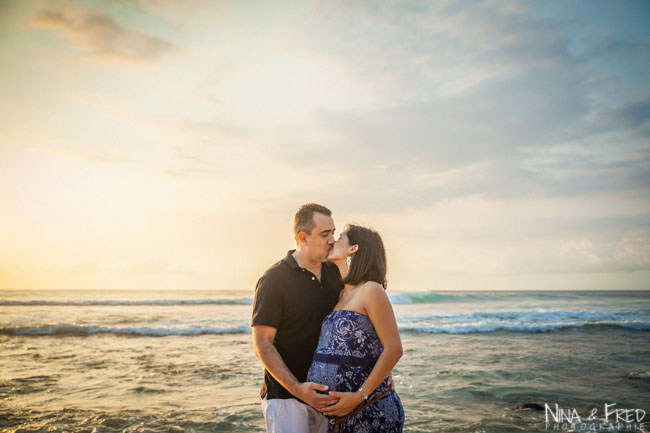 photo de grossesse de J&L