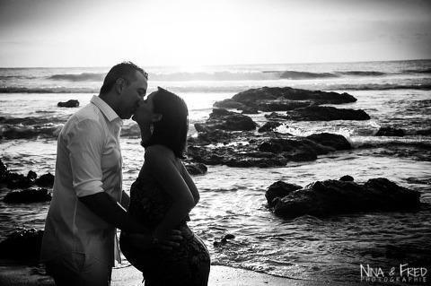 photo grossesse en noir et blanc J1L