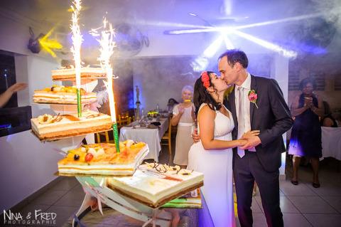 gâteau de mariage Isabelle et Stéphane