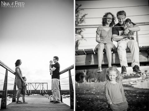 photogrpahies d'Urielle et sa famille