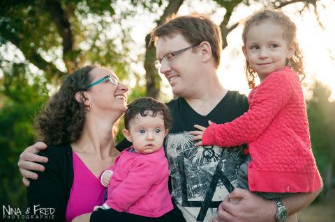 séance photo en famille avec Urielle à la Réunion