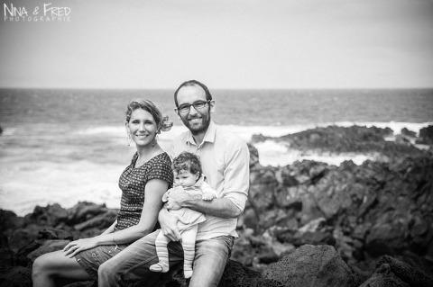 photo de famille V&F noir et blanc