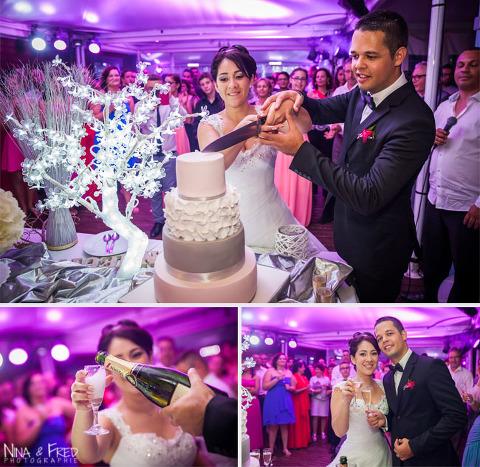 mariage Audrey et Mathieu gâteau