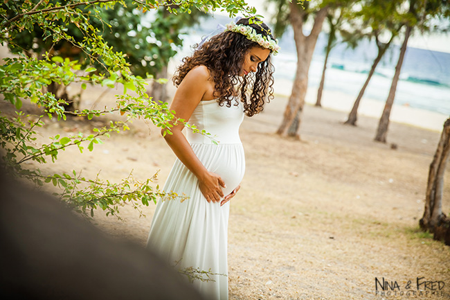 photo de femme enceinte Melissa