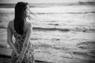 photographie noir et blanc Daphné