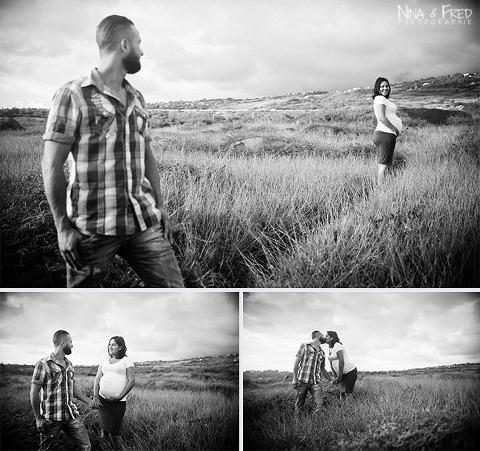 photos noir et blanc grossesse CB