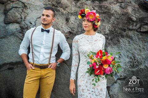 mariés tropiques