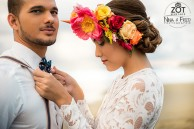 photo d'inspiration mariage tropical