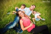 la séance photo en famille des B