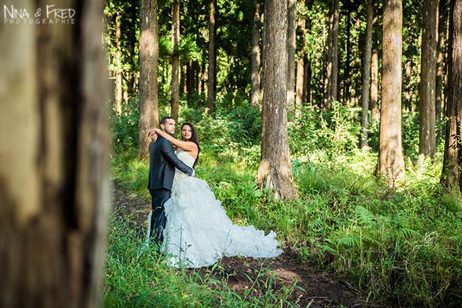 trash the dress en forêt 974 A&T