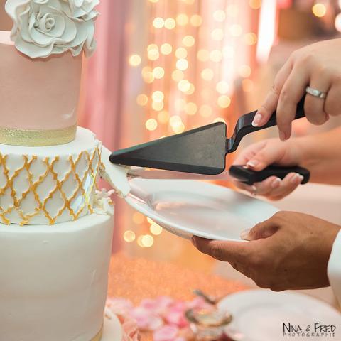 gâteau de mariage E&O