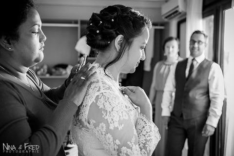 préparatifs mariage W&F
