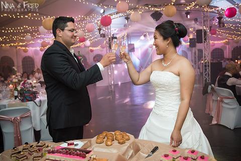 réception mariage de A&R