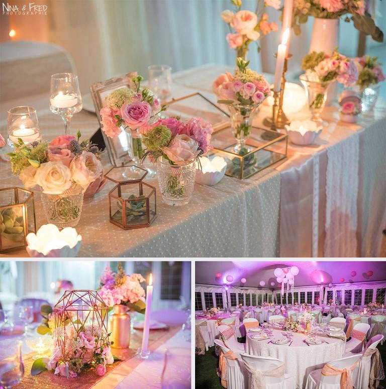 photos décoration de mariage Sarah flo