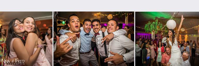 photogrpahie soirée mariage Florent